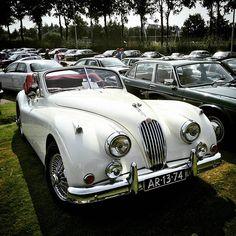 Just a beauty. Jaguar Xk. #jaguar #classiccarmeeting #ardenbritishday #jaguarxk #jaguarxk120 #britishcar #jagowners #jaguarmeeting #jaguarclub #xk120 #britishcarownera #oldtimer #classiccars #jdch #convertible