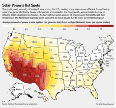 Solar Power's Hot Spots | WSJ