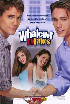 Whatever It Takes , starring Shane West, Marla Sokoloff, Jodi Lyn O'Keefe, Manu Intiraymi. A modern-day remake of the Cyrano DeBergerac tale. #Comedy #Drama #Romance
