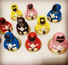 Doces com Estilo: Trufas Power Rangers Power Ranger Cake, Power Ranger Party, Power Rangers, Disney Characters, Fictional Characters, Ranges, Birthday, Power Ranger Birthday, Party Candy