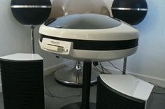 Weltron 1970 stereo and turntable