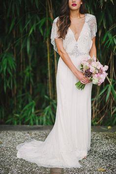#jenny-packham Photography: Julie Livingston Photography - julielivingstonphotography.com Read More: http://www.stylemepretty.com/southeast-weddings/2014/03/11/tuscan-inspired-shoot-at-magnolia-plantation/