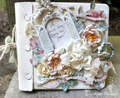 Shabby Chic Mixed Media Journal