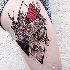 Artist: @jessicasvartvit __________ #inkstinct_tattoo_app #watercolortattoo #watercolor #instatattoo #tattooer #tattoo #tattooartist #tattoos #tattoocollection #tattooed #tattoomagazine #supportgoodtattooing #tattooer #tattooartwork #tatuaje #tattrx #inkedmag #equilattera #tattooaddicts #tattoolove #topclasstattooing #tattooaddicts #tattooart #superbtattoos #inked #amazingink #instagood #tatuaggio #tattoooftheday