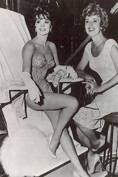 Natalie Wood & Gypsy Rose Lee