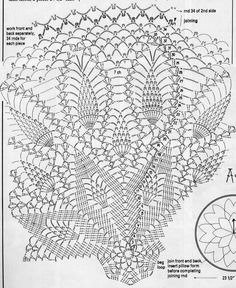 Kira scheme crochet: Scheme crochet no. 992