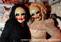creepy doll face costumes~love