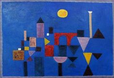 Paul Klee ~ An Abstract artist from Switzerland. Born into a musical family - but he chose to be an artist. Wassily Kandinsky, Abstract Expressionism, Abstract Art, Abstract Paintings, Oil Paintings, Painting Art, Landscape Paintings, Paul Klee Art, Design Theory