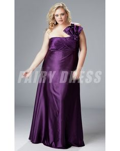 Sydney's Closet has on-trend plus size prom dresses in sizes in a variety of must-have colors and fabrics. Buy affordable formal gowns for prom now. Grape Bridesmaid Dresses, One Shoulder Bridesmaid Dresses, Wedding Dresses Uk, Prom Dresses, Bridesmaids, Nice Dresses, Plus Size Party Dresses, Evening Dresses Plus Size, Satin Formal Dress