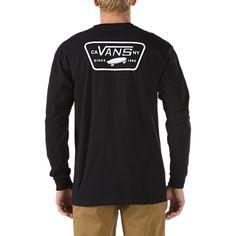 22a9e0ee615 Shirt - Logo Placement - Full Patch Back Long Sleeve T-Shirt Shirt Shop