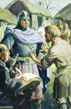 Domesday Book -William The Conqueror Uk History, World History, Family History, Domesday Book, Medieval Books, William The Conqueror, Ladybird Books, Western World, Queen Of England