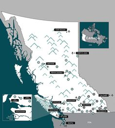 13 Ski Resorts and 22 Ski areas to discover. British Columbia, Columbia Travel, Ski And Snowboard, Snowboarding, Skiing, Ski Vacation, Best Family Vacations, Whistler, Ski