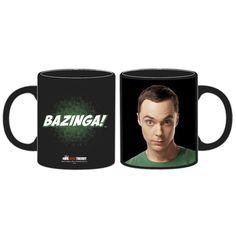 The Big Bang Theory - Taza Sheldon Cooper y Bazinga - €16,40  #bigbangtheory  #thebigbangtheory  #bazinga  #sheldon
