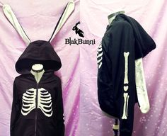Hey, I found this really awesome Etsy listing at https://www.etsy.com/listing/183191046/made-to-order-skeleton-bunny-rabbit