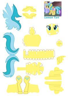 Lemon Tart papercraft by NoDreams on deviantART