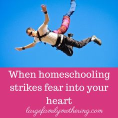 When homeschooling strikes fear into your heart