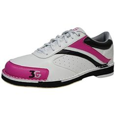 Womens Classic Pro Bowling Shoes Right Hand 8 M US WhitePinkBlack * You can get additional details at the image link. (This is an affiliate link) Bowling Outfit, Bowling Shoes, Athletic Training, Selling Online, All In One, Athletic Shoes, Classic, Sneakers, Leather