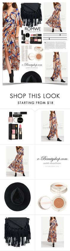 """Multicolor Dress"" by aleksandra985 ❤ liked on Polyvore featuring Bobbi Brown Cosmetics, Kershaw and Ryan Roche"