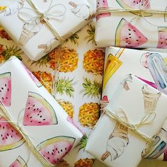 Very Soon you'll be able to purchase this amazing Wrapping paper… ALSO There are some exciting things to come, if you can get your hands on some of this wrapping paper.. Watch this space
