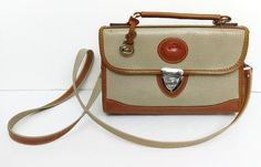 Vintage Authentic Dooney & Bourke All Weather cross body