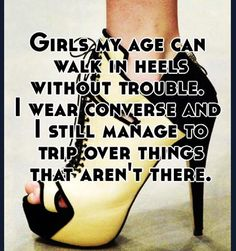 Girls my ages heels converse