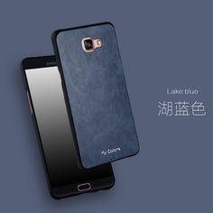 For Samsung Galaxy A9 Case Fashion Ultra-thin Silicon & PU Leather Phone Cases For Samsung Galaxy A9 2016 A9000 Cover Case Funda