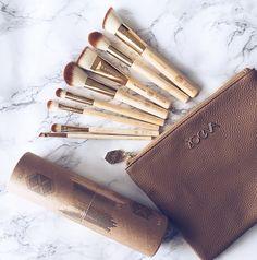 Zoeva Bamboo Brushes, Zoeva Cosmetics Brushes, Zoeva Gold Brushes