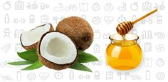 #Coconut and #Honey #Scalp Scrub: The mixture should be made so that it makes a consistent paste.