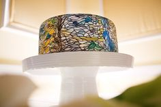 Stained-glass groom's cake by Maggie Austin Cakes/Linda Crayton