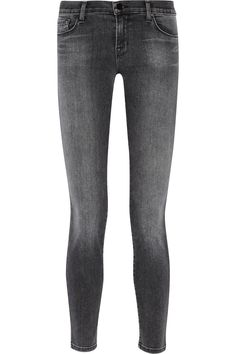 J Brand 811 mid-rise skinny jeans NET-A-PORTER.COM