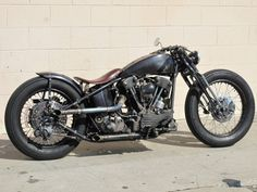 "David Beckham's 93"" Knuckle head Harley custom"