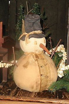 Rolley Polley Snowman by ArtisticOriginals on Etsy