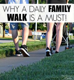 Here's why a daily family walk is a must! The benefits might surprise you! #sp