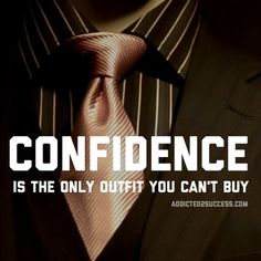 confidence only outfit you can't buy