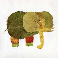elefant af blade