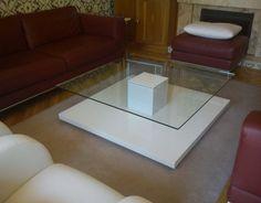 Ikea ps coffee table glass design idea
