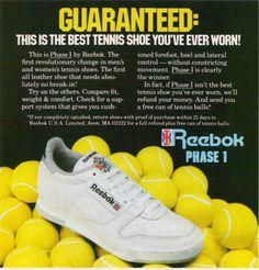 Reebok vintage tennis