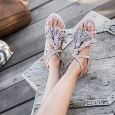 Tendance Chaussures  fringe sandals.  Tendance & idée Chaussures Femme…