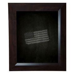 """Darby Home Co Dark Walnut Chalkboard Size: 47.75"""" x 101.75"""""""