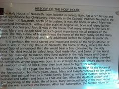 Plaque from inside the replica of the Holy House of Loreto in Worcester, Massachusetts Worcester Massachusetts, Solangelo, Catholic, Feels, Traditional, House, Loreto, Roman Catholic, Home