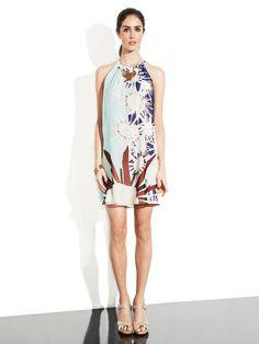 Lainey Silk Chiffon Shift Dress by Diane von Furstenberg