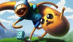 Fan Art Friday: It's Adventure Time! by techgnotic on DeviantArt