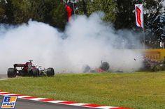Romain Grosjean, Formule 1 Grand Prix van Spanje 2018, Formule 1 Grand Prix, F1, Vans, Racing, Formula 1, Running, Auto Racing, Van
