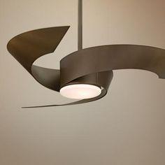 """Neat ceiling fan!!   52"""" Fanimation Torto Oil Rubbed Bronze Finish Ceiling Fan  LampsPlus"""