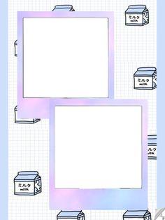 Milk Polaroid Cases, Polaroid Frame Png, Polaroid Picture Frame, Polaroid Template, Hippie Wallpaper, Framed Wallpaper, Flower Background Wallpaper, Insta Layout, Foto Frame