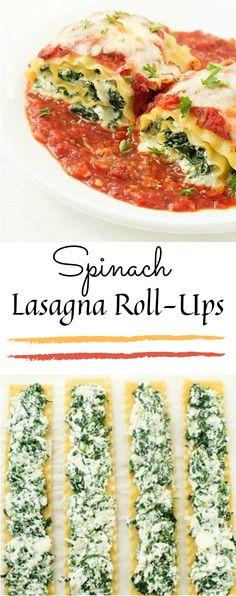 lasagna roll ups / lasagna recipe ; lasagna recipe with ricotta ; lasagna roll ups ; lasagna recipe with cottage cheese ; Lasagne Roll Ups, Lasagna Roll Ups Spinach, Spinach Roll Ups, Zucchini Lasagna, Lasagna Rolls Recipe, Healthy Lasagna Rolls, Easy Meatless Lasagna Recipe, Easy Lasagna Rolls, Heart Healthy Lasagna Recipe