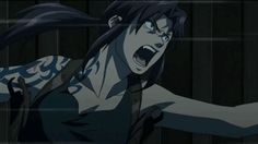 Animated gif about black lagoon in Revy by T h i s W o r l d I s Cruel Black Lagoon Anime, Revy Black Lagoon, Character Base, Character Design, Manga Anime, Anime Art, Gifs, Cartoon Profile Pictures, Cowboy Bebop