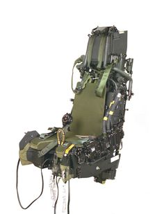 The development of the ejection seat for the Eurofighter Typhoon was carried out at Martin-Baker's facilities at Denham, Chalgrove and Langford Lodge. Military Jets, Military Weapons, Military Aircraft, Aviation Furniture, Aviation Decor, Flight Simulator Cockpit, Ejection Seat, Prop Design, Mechanical Design