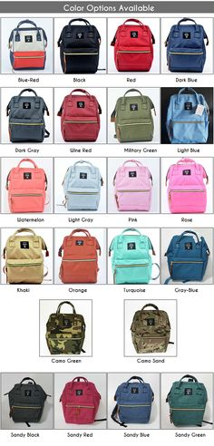 4a19d5da76 Canvas Unisex Backpack Bag