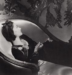 Horst P. Horst, Coco Chanel, Paris (1937), Silver Gelatin Photograph, 14 × 11 in